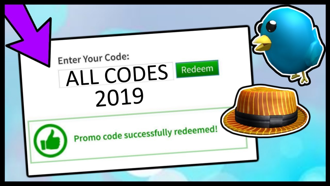all roblox promo codes 2019