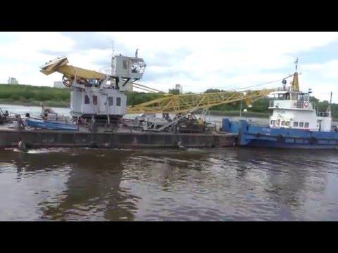 видео: РТ-334 с плавкраном