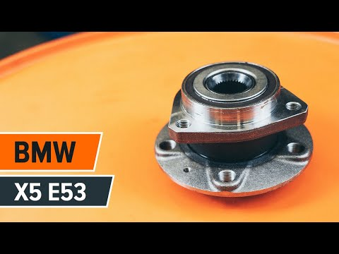 How to replace a rear wheel bearing on BMW X5 E53 TUTORIAL | AUTODOC