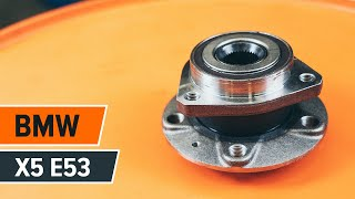 rear and front Axle shaft bearing replacement diy - online video