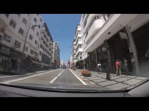 [Driving in Morocco] Downtown Tanger / Centre-ville de Tanger