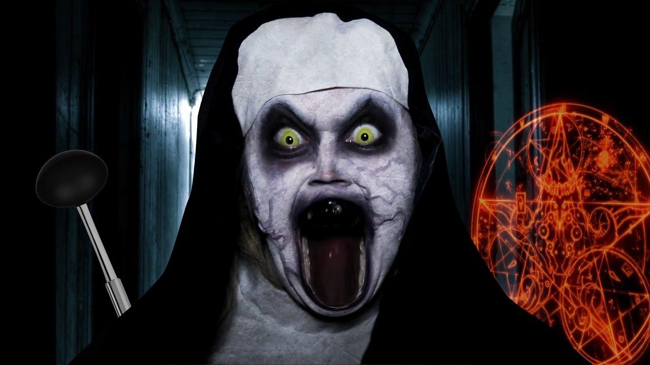 La video la plus flippante du web youtube - Le jeux de la sorciere qui fait peur ...