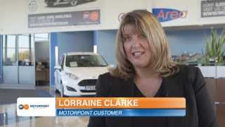 Lorraine Clarke talks about buying from Motorpoint
