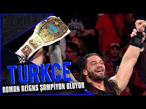 WWE RAW Türkçe Altyazı | Roman Reigns Şampiyon Oluyor!!!