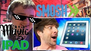 Reacting to SMOSH magic IPAD