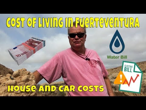 Cost of Living in Fuerteventura -  House and Car Costs