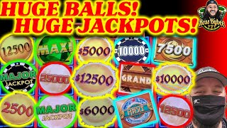 WHO's GOT THE BIGGEST BALLS OF THEM ALL? BIGGEST SLOT JACKPOTS DRAGON LIGHTNING LINK MIGHTY CASH