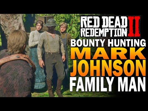 The Bounty For Mark Johnson! Red Dead Redemption 2 Bounty Hunting thumbnail