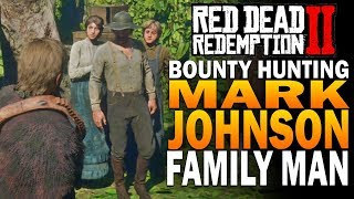 The Bounty For Mark Johnson! Red Dead Redemption 2 Bounty Hunting