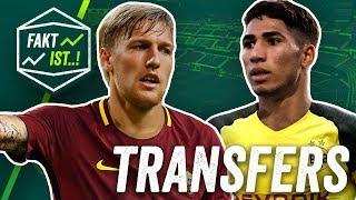 Forsberg zu Roma? Hakimi zu Dortmund! Fakt ist..! Transfer Spezial Sommerpause 2018