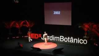Transformação é uma escolha: Alice Freitas and Ana Lucia at TEDxJardimBotanico