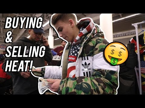 BUYING/SELLING HEAT AT SNEAKERCON!