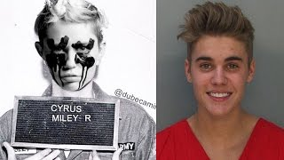 Miley Cyrus DISSES Justin Bieber in Mugshot Photo?
