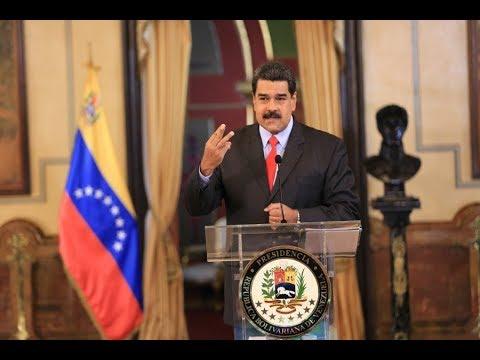 Rueda de prensa completa de Nicolás Maduro con medios internacionales, 15 febrero 2018