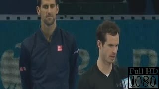 Andy Murray Post Game Interview after beat Novak Djokovic (ATP World To