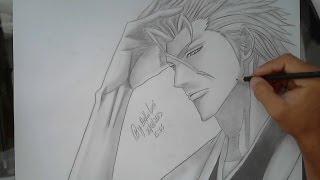 Drawing Aizen