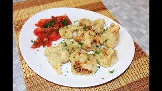 Цветная капуста в кляре. Готовим постное овощное блюдо в кляре без яиц.