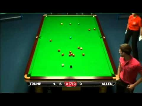 Judd Trump - Mark Allen (Frame 1) Snooker Kay Suzanne Memorial Cup ET6 - Final