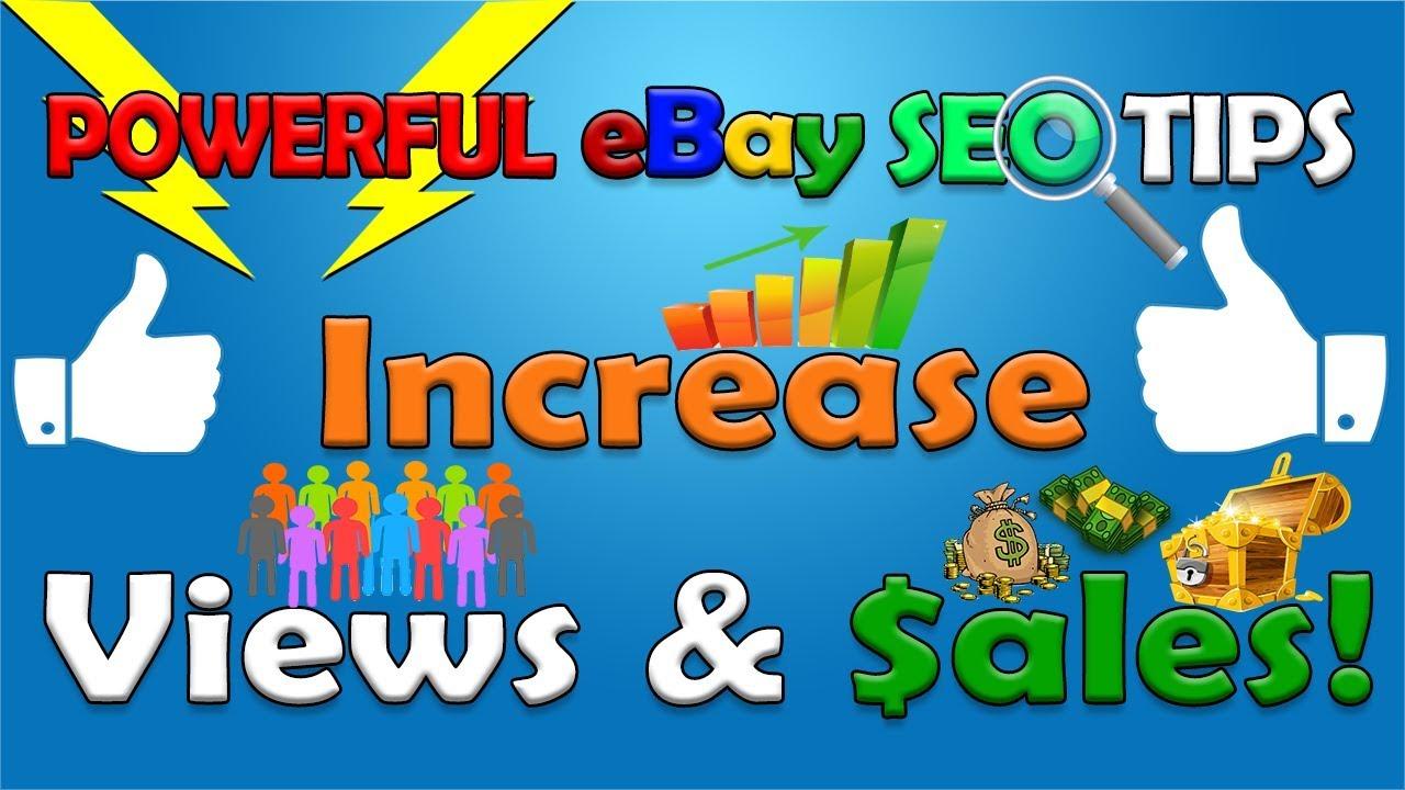 eBay SEO - How To SEO eBay Listings & Increase eBay Sales