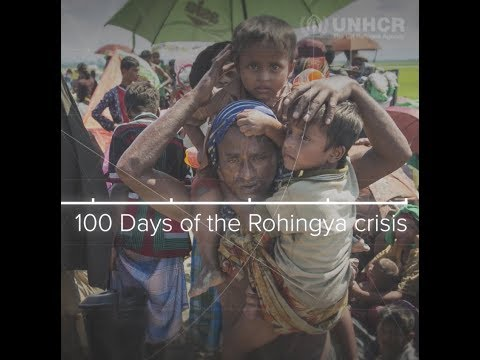 100 days of horror and hope: A timeline of the Rohingya crisis