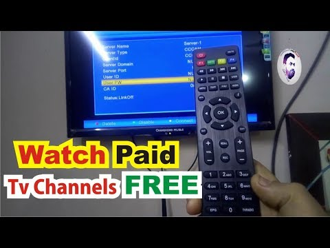 free cline how to add cccam cline in china Dish Tv receivers watch paid channel free vocal of amir
