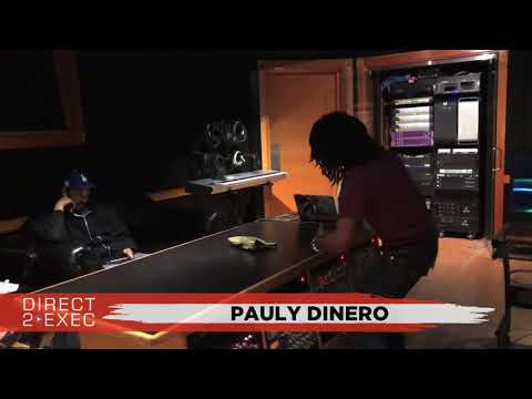 Pauly Dinero (@PaulyDinero) Performs at Direct 2 Exec Los Angeles 3/4/18 - Dreamville Records