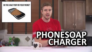 PhoneSoap Charger - Do You Have Poop on Your Phone?