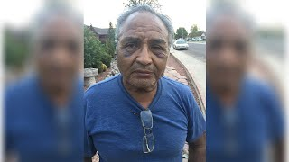 70-year-old man attacked after telling driver to slow down