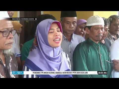 Siti Aisyah Disambut Dengan Tradisi Saweran Saat Sampai Rumah
