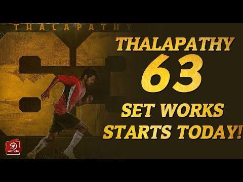 Thalapathy 63 to start here? Vijay   Atlee   Nayanthara