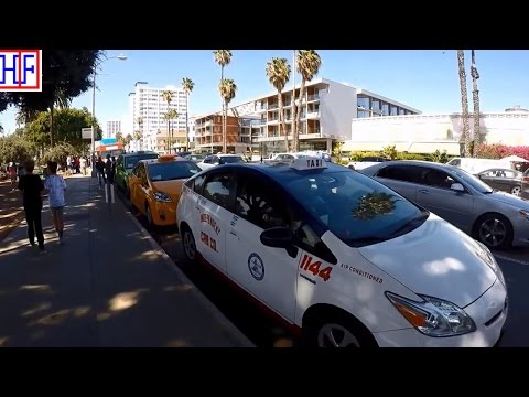 Los Angeles (LA) | Taxi Cabs | Tourist Information | Episode# 3
