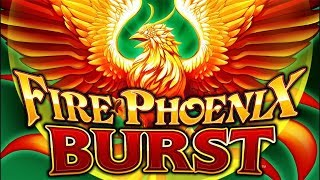 Fire Phoenix Burst Slot - RETRIGGER BONUS, NICE!