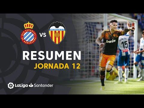 Resumen de RCD Espanyol vs Valencia CF (1-2)