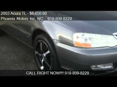 Acura TL TypeS For Sale In Raleigh NC YouTube - 2003 acura cl type s for sale