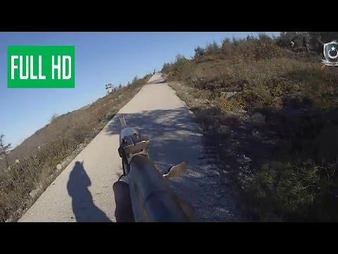 Syria War - Helmet Cam Firefight - POV Combat Footage Of Turkmen Brigades In Latakia NEW