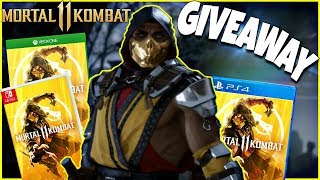 "MORTAL KOMBAT 11 ""GIVEAWAY"" ANNOUNCEMENT & Apex Legends!"