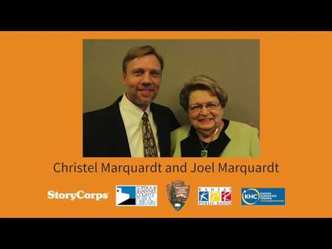 Topeka StoryCorps: 60 Years After Brown -- Christel Marquardt and Joel Marquardt