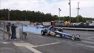 Dragsters at ATCO raceway