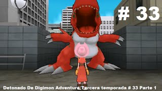 Detonado De Digimon Adventure Tercera temporada # 33