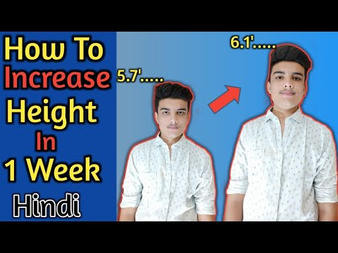 exercise to increase height in 1 month - Myhiton