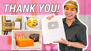 UNBOXING GIFTS! + (Dumating na ang SILVER PLAY BUTTON! 🥳)