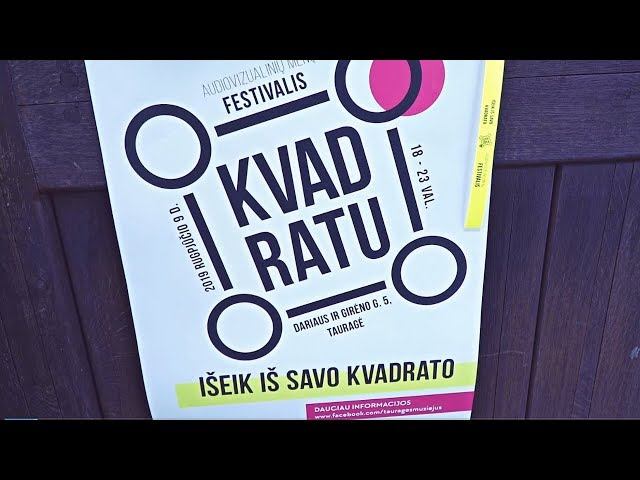 Festivalis KVADRATU Tauragė
