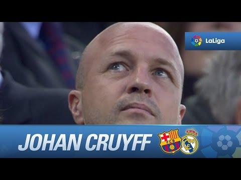 Homenaje a Johan Cruyff en el Camp Nou