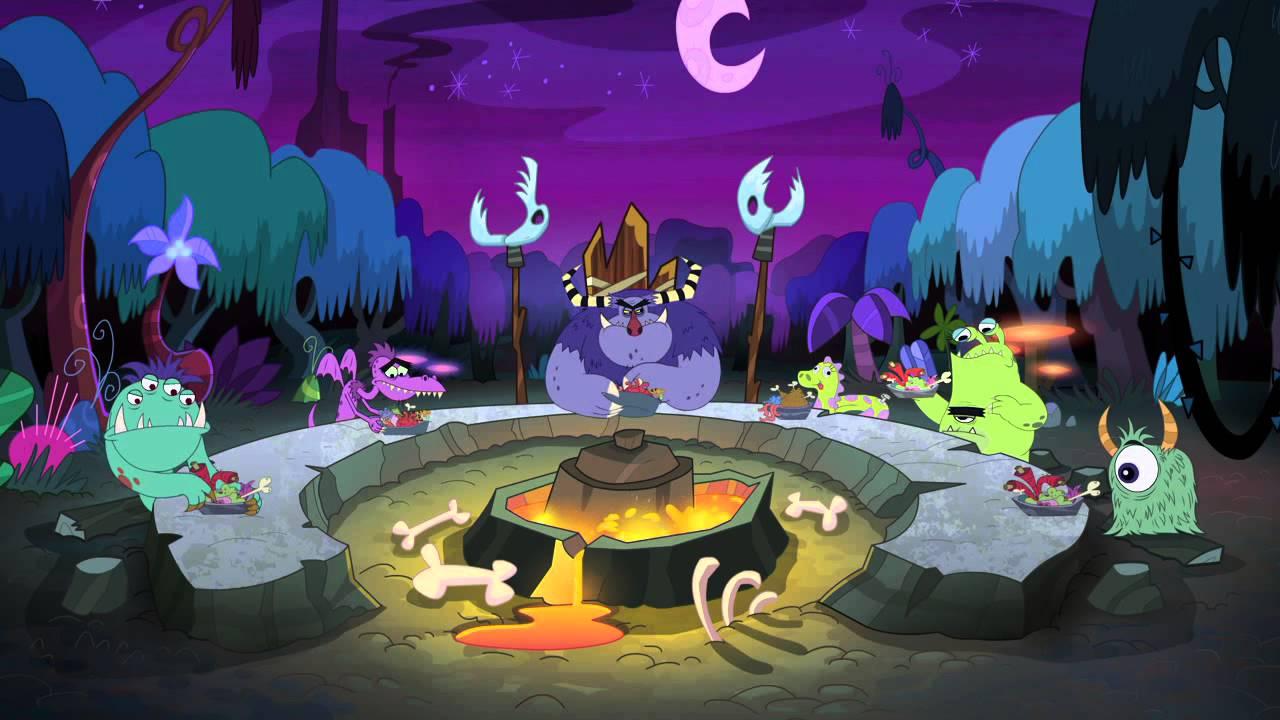 L 39 ile aux monstres dessin anim t l toon episode le journal de becky youtube - Monstres dessin ...