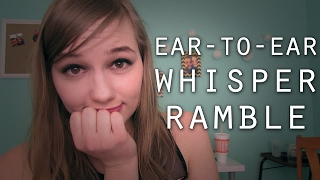 THOUGHTS ABOUT MY CHANNEL | ASMR Ear-to-Ear Whisper Ramble