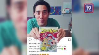 Mahu hasil video dengan Zach King