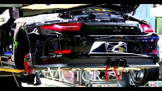 CAR FACTORY : 2017 PORSCHE 911 (991 I) PRODUCTION l FULL ASSEMBLY LINE