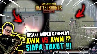GOKIL!! AWM VS AWM?! SIAPA TAKUT !!! - PUBG MOBILE INDONESIA