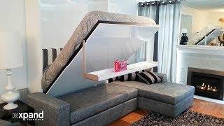 Невероятно компактная мебель для экономии пространства в доме