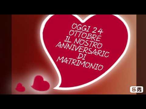 24 Anniversario Di Matrimonio.Oggi 24 Ottobre Il Nostro Anniversario Di Matrimonio Youtube